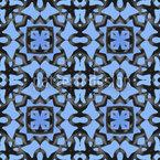 Blauer Orient Vektor Design