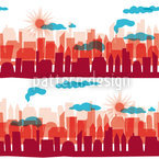 Skyline Aurora Pattern Design