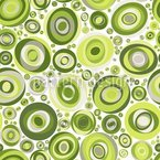Ellipso Verde Seamless Vector Pattern Design