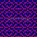 Ultra Geo Symmetrie Nahtloses Vektormuster