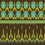 Actek Ikat Vector Design