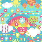 Sweet Candy Pattern Design