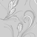 Bromelia Monochrom Nahtloses Vektormuster