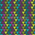 La Matrice Des Triangles Motif Vectoriel Sans Couture