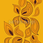 Leaves In The Wind Vector Ornament