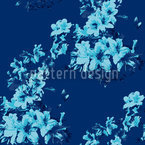 Flora Antique Riviera Seamless Vector Pattern Design