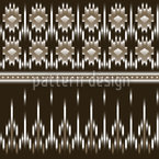 Maya Ikat Repeat Pattern