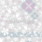 Floras Fairyland Seamless Pattern