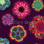 Florecillas Seamless Vector Pattern Design