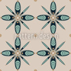 Cocoon Floral Repeating Pattern