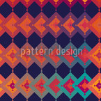 Paracas Seamless Vector Pattern Design
