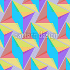 Harlekin Geometrie Nahtloses Vektormuster