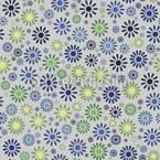 Flower Explosion Seamless Pattern