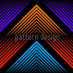 Philharmonic Zig Zag Color Seamless Vector Pattern Design
