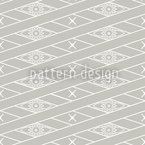 Rhombus Grey Seamless Pattern