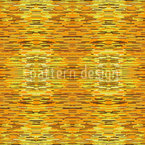 Fibrillation In The Gold Chamber Seamless Vector Pattern Design