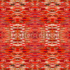 Fibrilation In The Red Saloon Seamless Vector Pattern Design