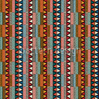 Tribal Color Nahtloses Vektor Muster