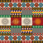 Maya Mix Seamless Vector Pattern Design