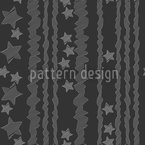 Stars And Stripes Seamless Vector Pattern Design