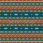 Tribal Streifen Nahtloses Vektormuster