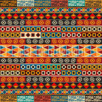 Ethno Stripes Seamless Pattern