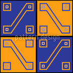 Inca Gold Seamless Vector Pattern Design