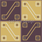 Inca Treasure Repeat Pattern