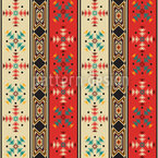 Navajo Style Repeating Pattern