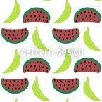 Bella Banana Trifft Morgen Manni Melone Vektor Design