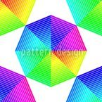 Farbspektren Des Oktagons Nahtloses Vektormuster