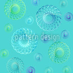 Many Swirls In Spring Pattern Design