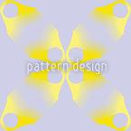 Flores Perdidas Em Lilás Design de padrão vetorial sem costura