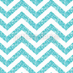 Crystal Clear Chevron Pattern Design
