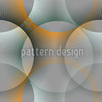 Transparency Of The Sunray Circles Seamless Vector Pattern Design
