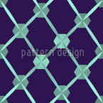 Hexagon Network Seamless Vector Pattern Design