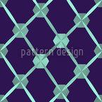 Hexagon Netzwerk Nahtloses Vektormuster