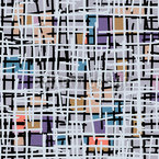 Pastell Pop Art Patchwork Designmuster