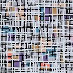 Pastell Pop Art Patchwork Nahtloses Vektormuster