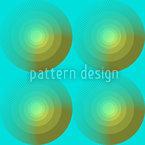 Sommerfrische Kreise Muster Design