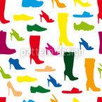 Schuhe Vektor Ornament