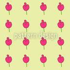 Mukhri Flowers Seamless Vector Pattern Design