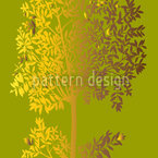 Trees Seamless Vector Pattern Design