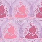 Buddha Romanze Musterdesign