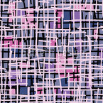 Pink Pop Art Patchwork Vektor Muster