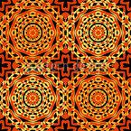Orient Express Rosetten Vektor Design