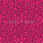Swirly Tendrillars Seamless Vector Pattern Design