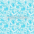 Birdie Fun Seamless Vector Pattern Design