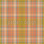 Kilt Sunnys Design de padrão vetorial sem costura