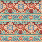 Bordura Russkaja Seamless Vector Pattern Design